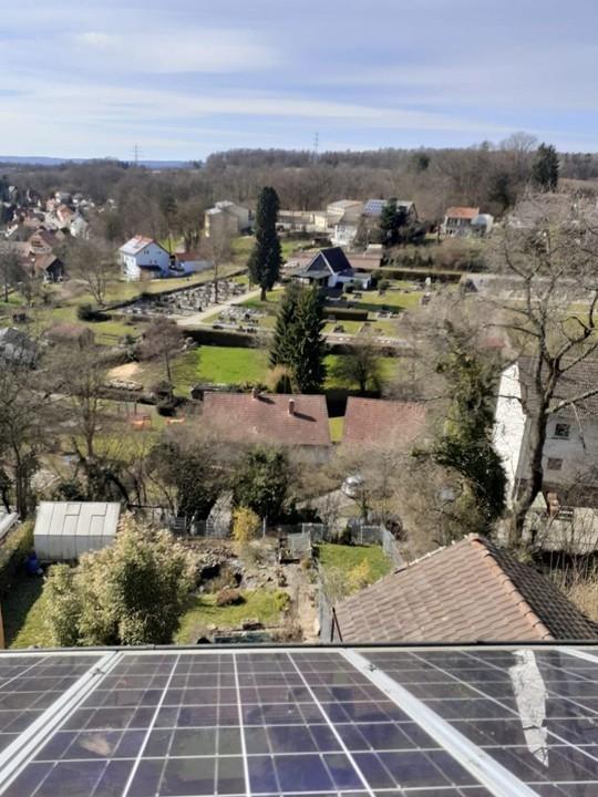 Westseite-Photovoltaik